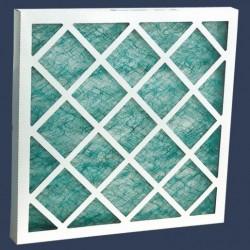 Filtre fibre de verre cadre cartonné
