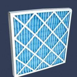 Cellule filtrante polyester cadre cartonné