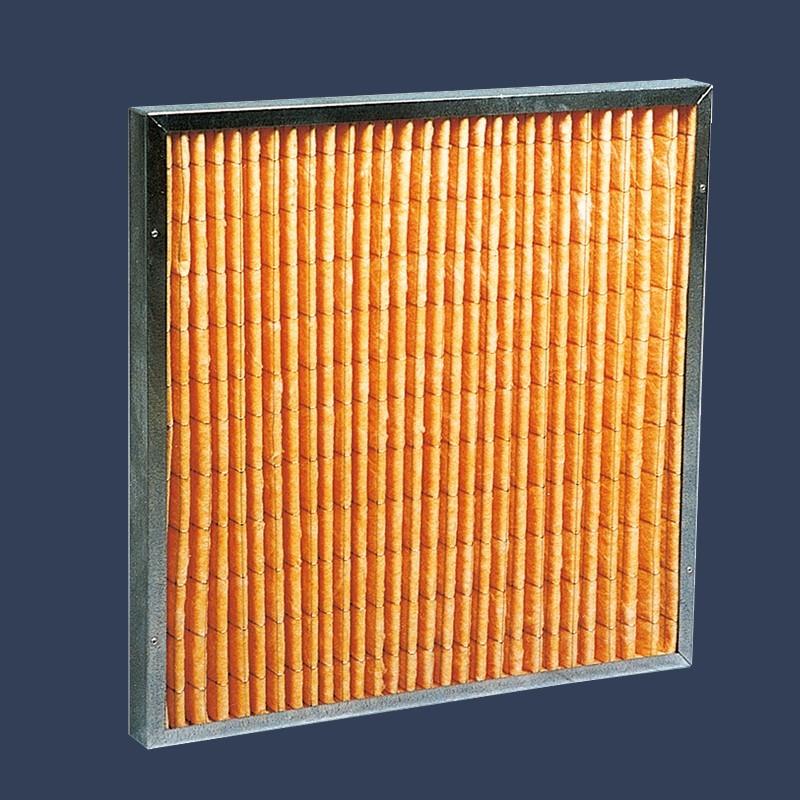 Cellule filtrante microfibre de verre haute température