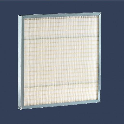 Cellule filtrante microfibre de verre filtration fine