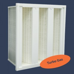 Filtre à dièdres compact pour applications turbogaz