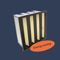 Energy saving filter 4 rigid bags