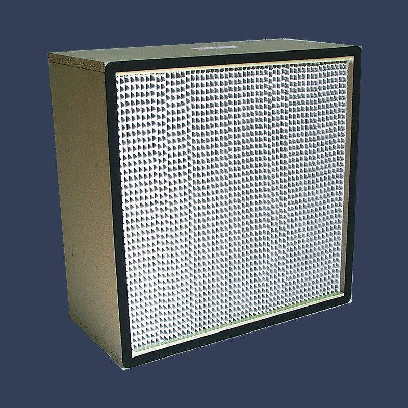 High efficiency filter E10