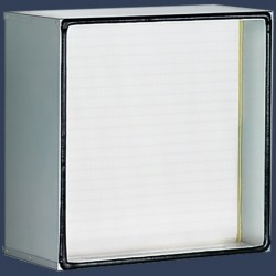 Galvanized frame filter