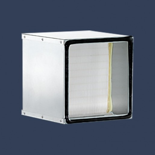 Galvanized frame filter