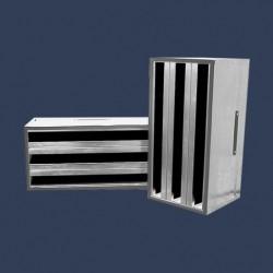 Cellule filtrante multihèdre charbon actif