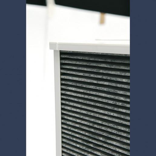 carbon rigid bag filter detail