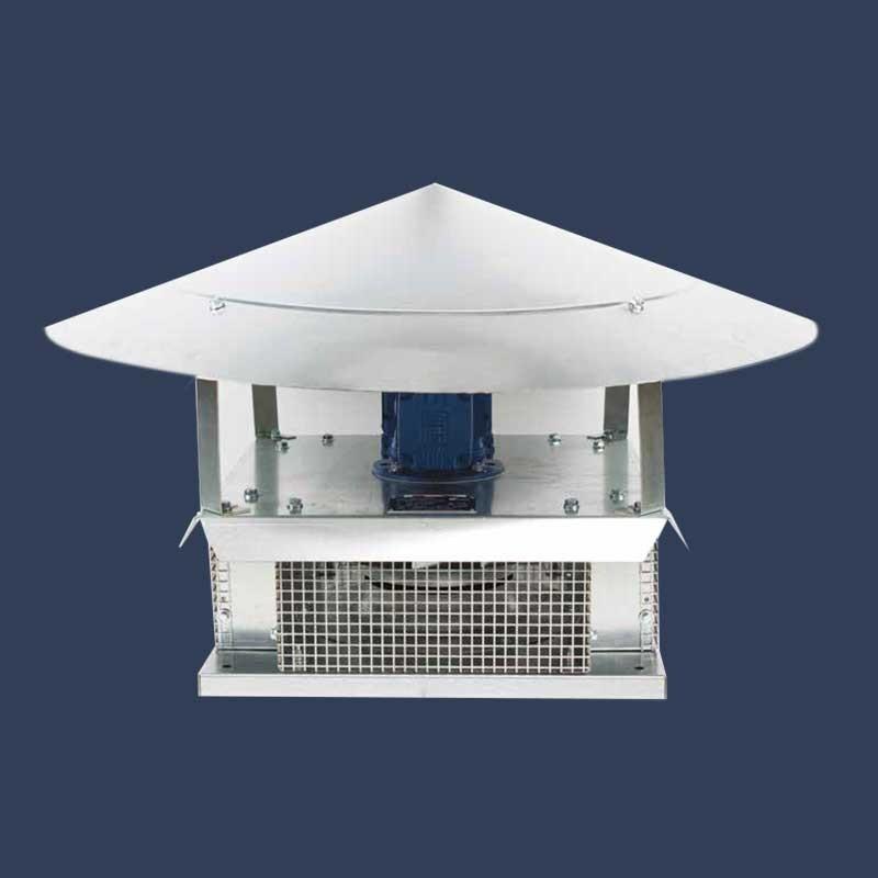 High pressure centrifugal turret