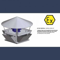 High pressure centrifugal turret - sketch
