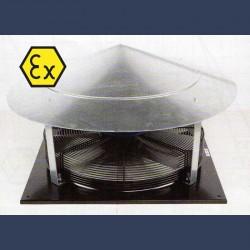 Tourelle d'extraction d'air hélicoide ATEX