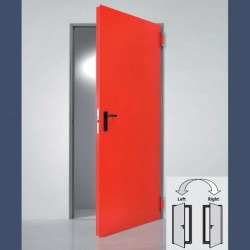 Insulated multipurpose door (double door variant has reversible leaves)