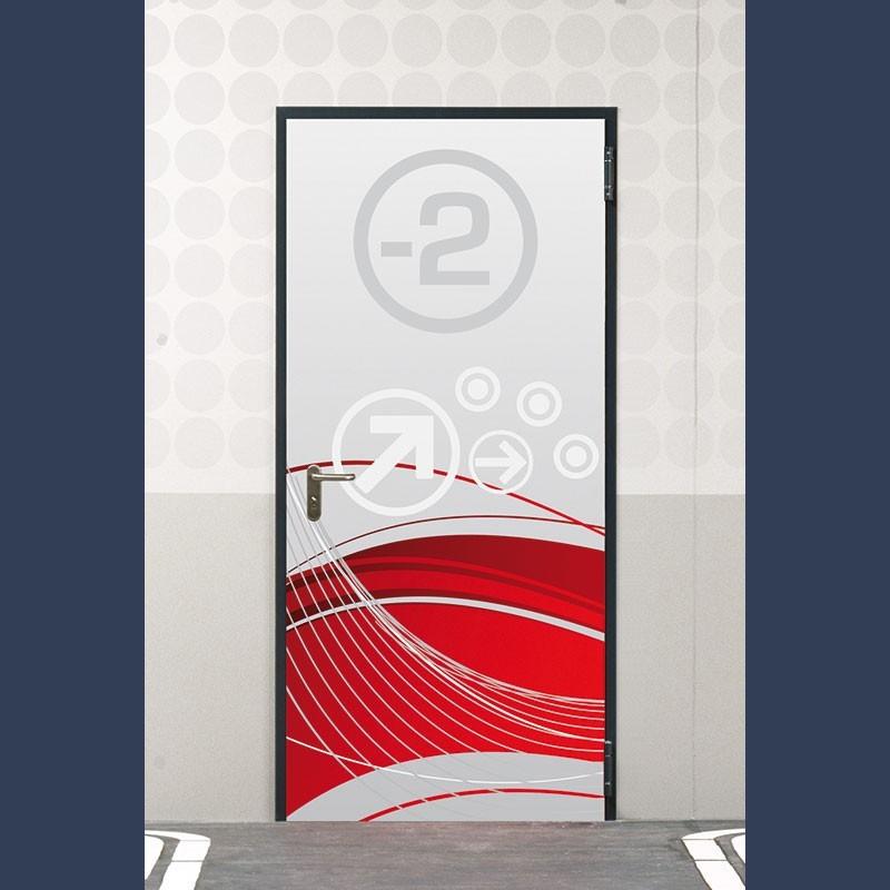 Metal fire door EI2 60 (fire rating 1 hour)