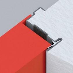 Standard frame détail on the metal fire door EI2 60
