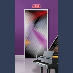 Acoustic steel door sound reduction Rw 30dB