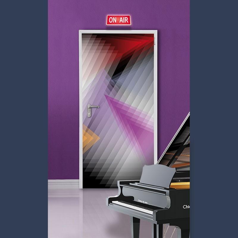 Porte acoustique indice d'affaiblissement acoustique Rw 30dB