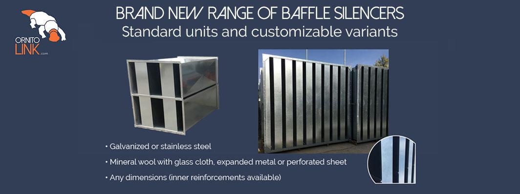 new baffles silencers